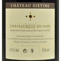 Château Sixtine - Châteauneuf du Pape - Manus Dei 2012