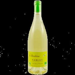 Domaine La Roubine - AOC Sablet vin blanc - La Terre d'Yvonne Bio 2015