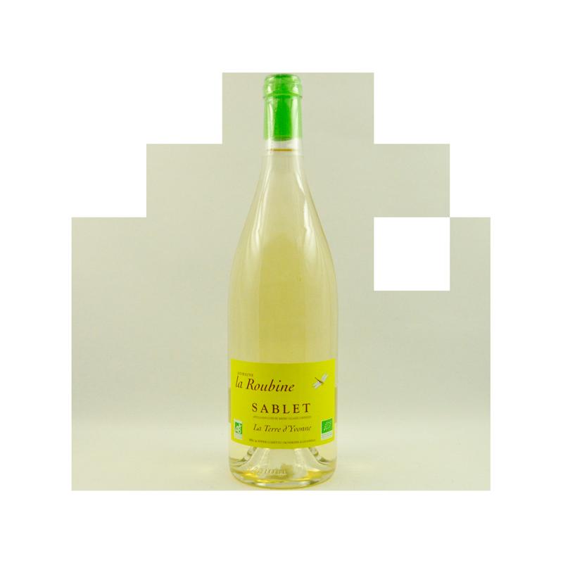 Domaine La Roubine - AOC Sablet Blanc - La Terre d'Yvonne Bio 2015