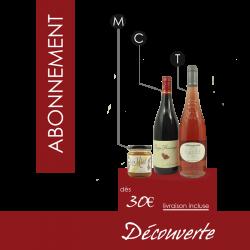 Abonnement Box Surprise Vin & Miel - Découverte 2 Vins/1 Miel