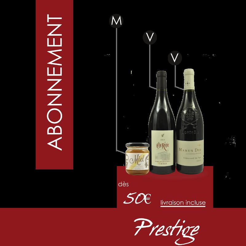 Prestige - 2 vins et 1 miel