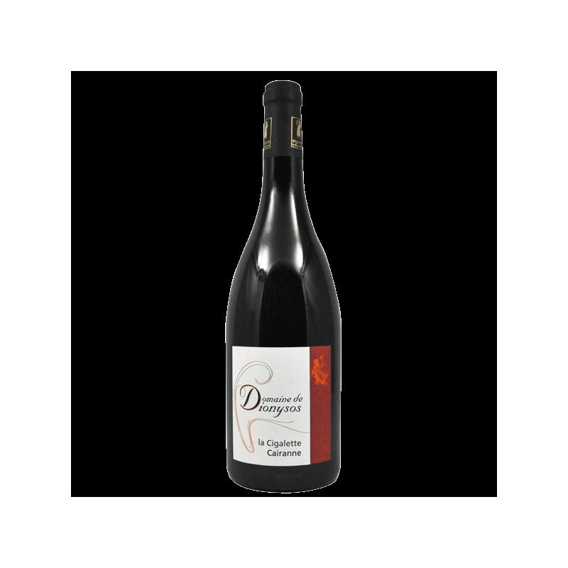 Domaine de Dionysos - AOC Cairanne Bio - La Cigalette 2014