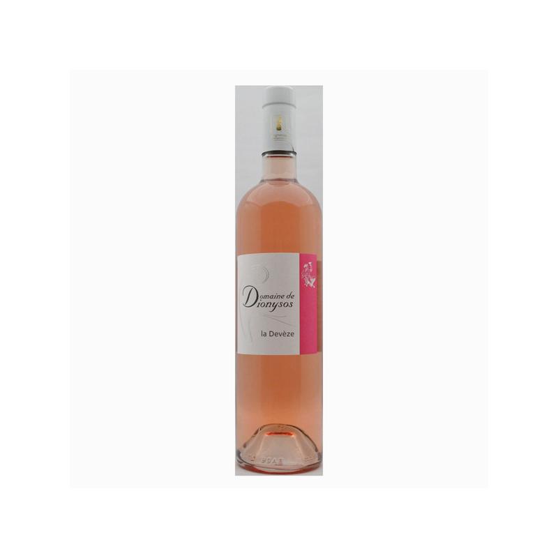 Domaine de Dionysos - AOC Côtes du Rhône Rosé Bio - La Devèze 2020