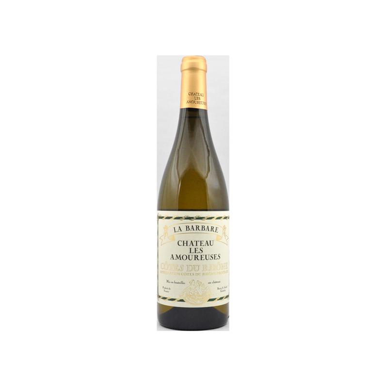 Château les Amoureuses La Barbare blanc 2016 - AOC Côtes du Rhône