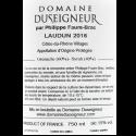 Domaine Duseigneur Philippe Faure Brac Laudun Côtes du Rhône 2016