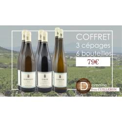 Coffret vin Yves Cuilleron - 6 bouteilles & 3 cépages – 79€ livraison France incluse