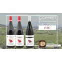 Coffret Laurent Habrard Crozes Hermitage Bio - 2 vins rouges et 1 vin blanc - 55€ livraison France incluse