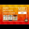 Coffret Miel à Cuisiner - 3 pots - 29€ livraison France incluse