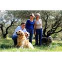 La famille Jean Luc Colombo avec Anne et Laure Colombo