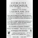 Domaine Duseigneur, Lirac Bio, L'Astrolabe 2018