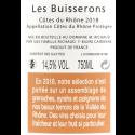 Marcel Richaud Les Buisserons – Côtes du Rhône 2018