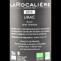 Domaine La Rocalière - Dentelle Noire 2015 - AOC Lirac