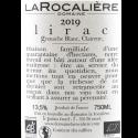 Domaine La Rocalière - AOC Lirac Blanc 2019