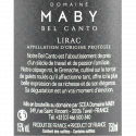 Domaine Maby Bel Canto Lirac 2017