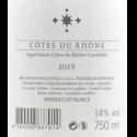 Château Sixtine - Cuvée du Vatican - Réserve de l'Abbé 2019 - Côtes du Rhône blanc