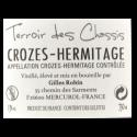 Domaine Gilles Robin Crozes Hermitage Terroir des Chassis 2017 Bio