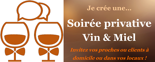 Soirée privative par Wine & Bee